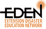 Extension Disaster Education Network (EDEN) logo