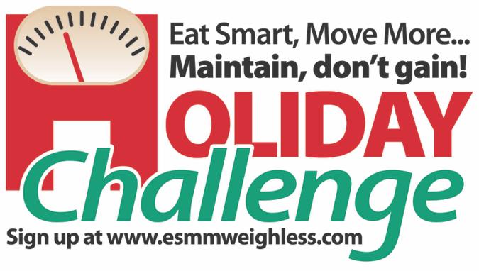 Eat Smart, Move More Holiday Challenge logo