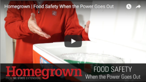 Food Safety when the power goes out video