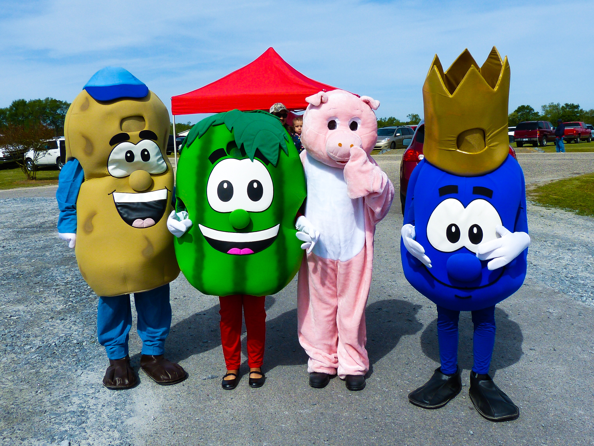 Ag Day mascots