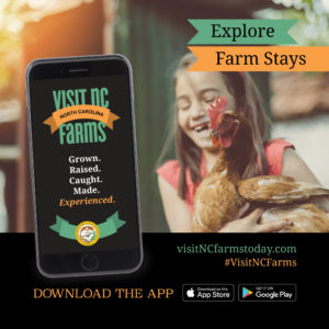 Cover photo for Download the Visit NC Farms App Now!