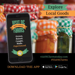Cover photo for Download the Visit NC Farms App