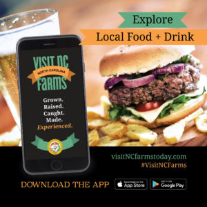 Cover photo for Explore Local Food and Drink on the Visit NC Farms App