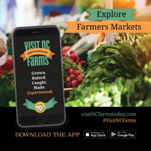 Cover photo for Sampson County Goes Live on the Visit NC Farms App!