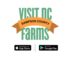 Cover photo for Sampson County Now Available on the Visit NC Farms App