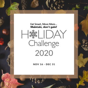 Holiday Challenge 2020 poster