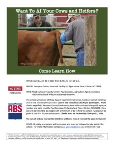 Cover photo for Learn How to AI Your Cows and Heifers