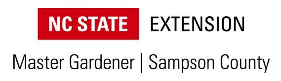 NC State Extension Master Gardener Sampson County Logo