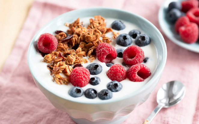 Yogurt and Fruit Bowl